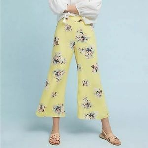 Featherbone for Anthropologie floral pants 4